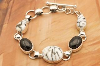 White Buffalo Turquoise Bracelet